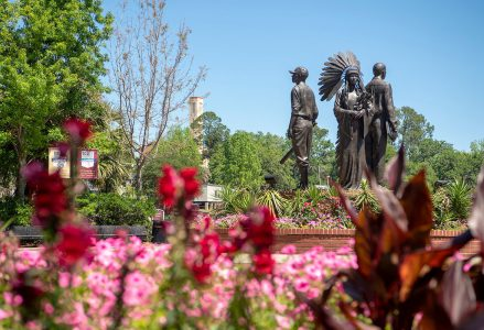 Integration statue on FSU campus